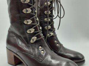 Brown Victorian Vintage Boots