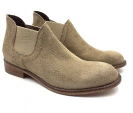 Suede-Beige-Booties-Side