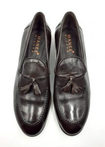 chocolate-brown-leather-shoe-front