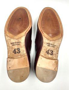 wine-leather-shoe-bottom