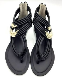 black-gold-sandal-front1