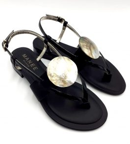 black-sandal-shell-side