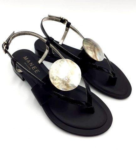 black-sandal-shell-side